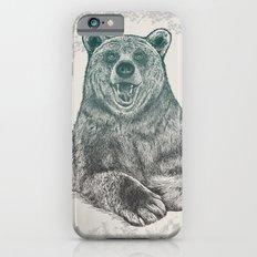 Bear Portrait Slim Case iPhone 6s