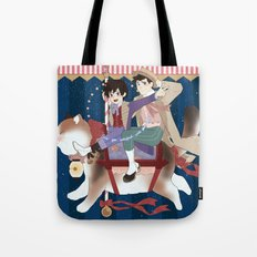 Carousel: Satisfied With Your Care Tote Bag