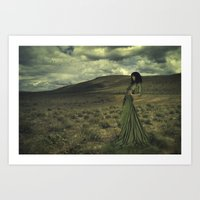 emerald canyon Art Print