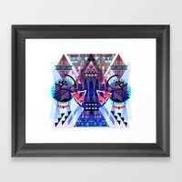 Metric Framed Art Print