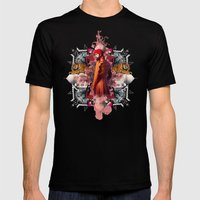 Kaleidoscope India Mens Fitted Tee Black SMALL