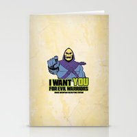 Skeletor - We Want You F… Stationery Cards