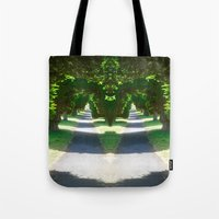 Two Paths Diverge Tote Bag