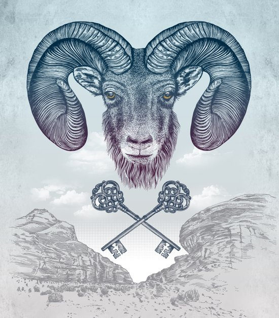 The Ram (Aries) Canvas Print