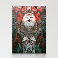 The Owls Are Beautiful Stationery Cards
