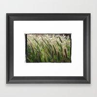 Soft Breeze Framed Art Print