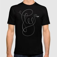 Fly Mens Fitted Tee Black SMALL