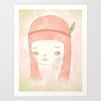 HATE YOU MISS YOU Art Print