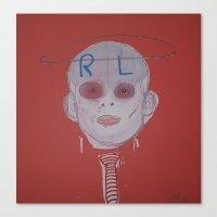 R & L Canvas Print