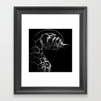 Height Framed Art Print