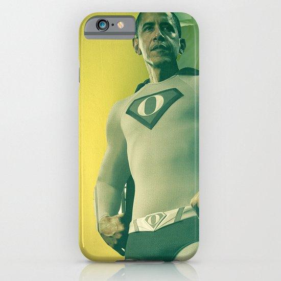 super obama iPhone & iPod Case