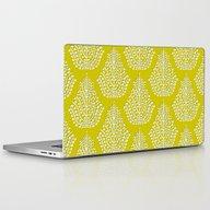 SPIRIT Lime White Laptop & iPad Skin