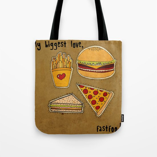 My Biggest Love Tote Bag