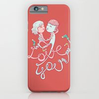 Intertwined Love iPhone 6 Slim Case