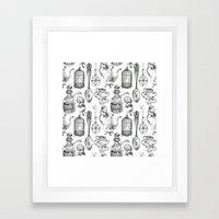 Alice Encounters Framed Art Print