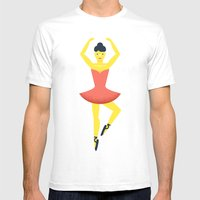 Ballet Dancer, Beloved T… Mens Fitted Tee White SMALL
