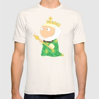Isabella I of Castile Mens Fitted Tee Natural SMALL