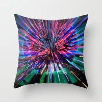 Night Light 144 - Wheel Throw Pillow