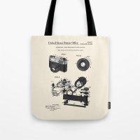Camera Patent 1963 Tote Bag