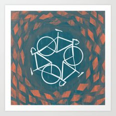 Bike-Cycle Art Print