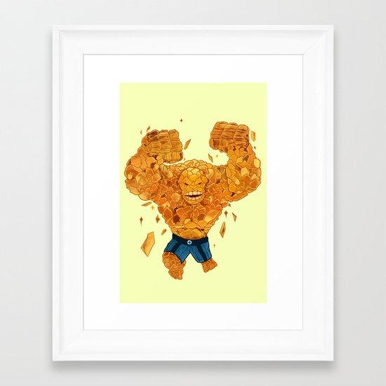 Leap of Doom Framed Art Print