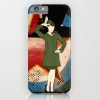 Army Girl iPhone 6 Slim Case