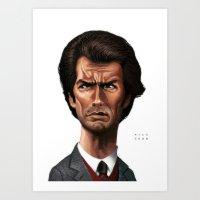 Dirty Harry Art Print