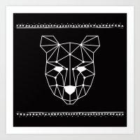Totem Festival 2015 - Wh… Art Print