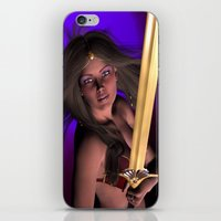 Warrior Princess iPhone & iPod Skin