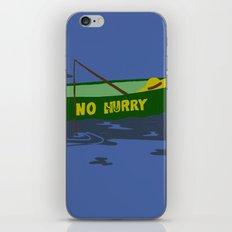 No Hurry iPhone & iPod Skin