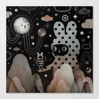 Nighty Night Canvas Print