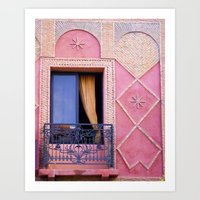 Marrakesh Balcony Art Print
