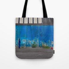 Paint it blue Tote Bag