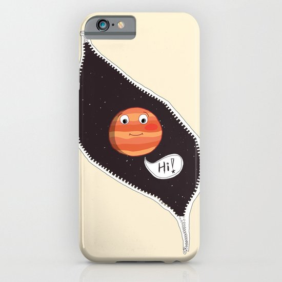 Hello Jupiter iPhone & iPod Case