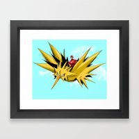 Flash-Dos Framed Art Print