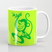 Green Monkey Mug