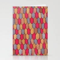 Feathers Monster Skins! Stationery Cards