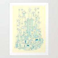 Kuala Lumpur Art Print