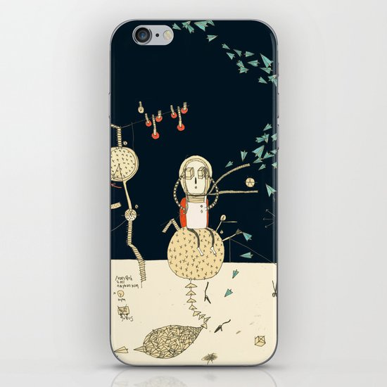 """""""You will not do incredible things without an incredible dream."""" – John Eliot iPhone & iPod Skin"""