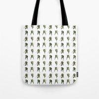 Ninja Turtle Pattern Tote Bag