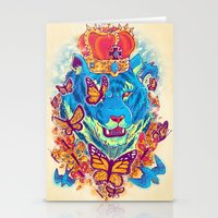 The Siberian Monarch Stationery Cards