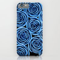Flowers At Midnight iPhone 6 Slim Case