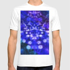 Abstract #2 Mens Fitted Tee SMALL White