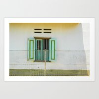 Window And Me Art Print