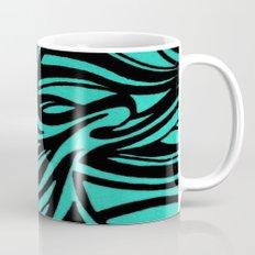 Blue & Black Waves Mug