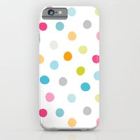 Chickweed Mid Dots iPhone 6 Slim Case
