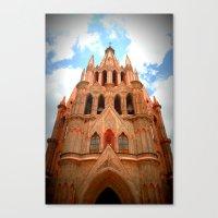 Iglesia Canvas Print