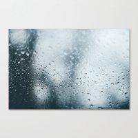 raindrops .  Canvas Print