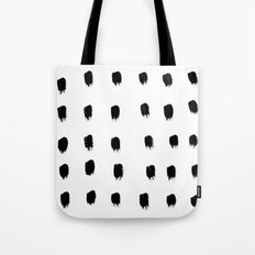 Jacques Pattern - Pure White Tote Bag