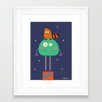Moncho Framed Art Print